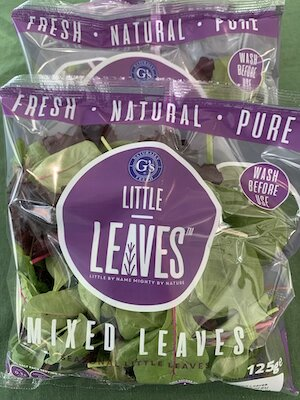 Salad Leaves small